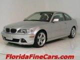 2004 Titanium Silver Metallic BMW 3 Series 325i Coupe #544093