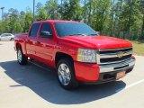 2009 Victory Red Chevrolet Silverado 1500 LT Crew Cab #62865769
