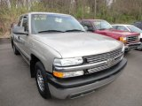 2002 Light Pewter Metallic Chevrolet Silverado 1500 Extended Cab #62864716
