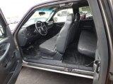 2002 Chevrolet Silverado 1500 Extended Cab Graphite Gray Interior