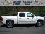 2012 White Diamond Tricoat Chevrolet Silverado 1500 LT Crew Cab 4x4 #62864691