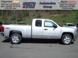 2012 Silver Ice Metallic Chevrolet Silverado 1500 LT Extended Cab 4x4 #62864686
