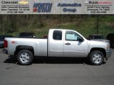 2012 Silver Ice Metallic Chevrolet Silverado 1500 LT Extended Cab 4x4 #62864685