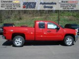 2012 Victory Red Chevrolet Silverado 1500 LT Extended Cab 4x4 #62864677