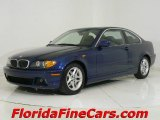 2004 Mystic Blue Metallic BMW 3 Series 325i Coupe #544086