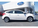 2012 Oxford White Ford Focus SEL 5-Door #62864654