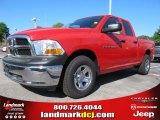 2012 Flame Red Dodge Ram 1500 ST Quad Cab #62864638