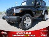 2012 Black Jeep Wrangler Sport S 4x4 #62864611
