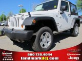 2012 Bright White Jeep Wrangler Sport 4x4 #62864610