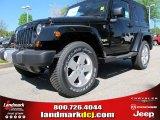 2012 Black Jeep Wrangler Sahara 4x4 #62864609