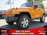 2012 Dozer Yellow Jeep Wrangler Rubicon 4X4 #62864608