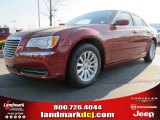 2012 Deep Cherry Red Crystal Pearl Chrysler 300  #62864607
