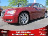 2012 Deep Cherry Red Crystal Pearl Chrysler 300 C #62864605