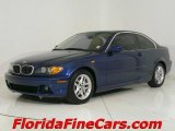 2004 Mystic Blue Metallic BMW 3 Series 325i Coupe #544084