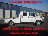 2008 GMC C Series Topkick C4500 Crew Cab Hauler Truck