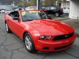 2012 Ford Mustang V6 Convertible Data, Info and Specs