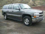 Medium Charcoal Gray Metallic Chevrolet Suburban in 2001