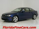 2004 Mystic Blue Metallic BMW 3 Series 325i Coupe #544065