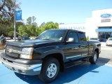 2003 Black Chevrolet Silverado 1500 Z71 Extended Cab 4x4 #62864550