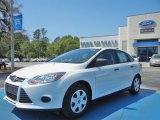 2012 Oxford White Ford Focus S Sedan #62864547