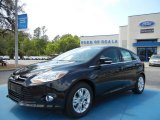 2012 Tuxedo Black Metallic Ford Focus SEL 5-Door #62864540