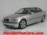 2004 Titanium Silver Metallic BMW 3 Series 330i Sedan #544044