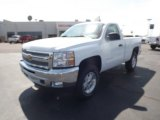 2012 Summit White Chevrolet Silverado 1500 LT Regular Cab 4x4 #62865093