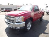 2012 Victory Red Chevrolet Silverado 1500 LT Regular Cab 4x4 #62865092