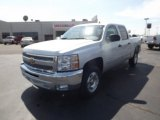 2012 Silver Ice Metallic Chevrolet Silverado 1500 LT Crew Cab #62865086
