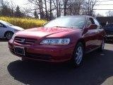 2002 Firepepper Red Pearl Honda Accord EX Sedan #62865563