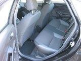 2012 Ford Focus S Sedan Rear Seat