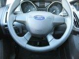 2012 Ford Focus S Sedan Steering Wheel
