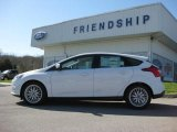 2012 Oxford White Ford Focus SEL 5-Door #62864445