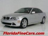 2004 Titanium Silver Metallic BMW 3 Series 330i Coupe #544018