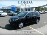 2012 Crystal Black Pearl Honda CR-V EX #62865001