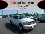2009 Stone White Dodge Ram 1500 Lone Star Edition Crew Cab 4x4 #62864981
