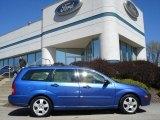 2003 French Blue Metallic Ford Focus ZTW Wagon #62864365