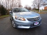 2012 Celestial Blue Metallic Honda Accord EX V6 Sedan #62865464