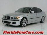 2004 Titanium Silver Metallic BMW 3 Series 330i Sedan #544012