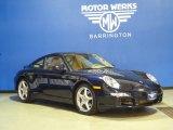 2008 Midnight Blue Metallic Porsche 911 Carrera 4 Coupe #62864325