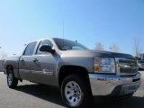 2012 Graystone Metallic Chevrolet Silverado 1500 LS Crew Cab #62864907