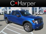 2011 Blue Flame Metallic Ford F150 FX4 SuperCab 4x4 #62864301