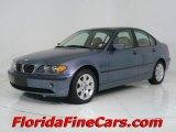 2004 Steel Blue Metallic BMW 3 Series 325i Sedan #544010