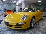 2007 Speed Yellow Porsche 911 Carrera S Cabriolet #62951