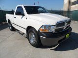 2009 Stone White Dodge Ram 1500 ST Regular Cab #62864831
