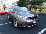 2012 Predawn Gray Mica Toyota Sienna LE #62865383