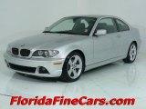 2004 Titanium Silver Metallic BMW 3 Series 325i Coupe #543996