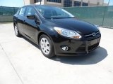 2012 Tuxedo Black Metallic Ford Focus SE Sedan #62864808