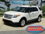 2011 White Suede Ford Explorer XLT #62865359
