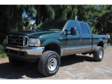 2002 Ford F250 Super Duty Dark Highland Green Metallic